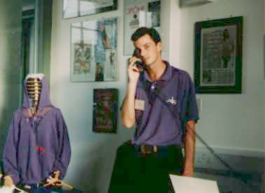 CLOtherapy'93 Purple Polo-shirt...