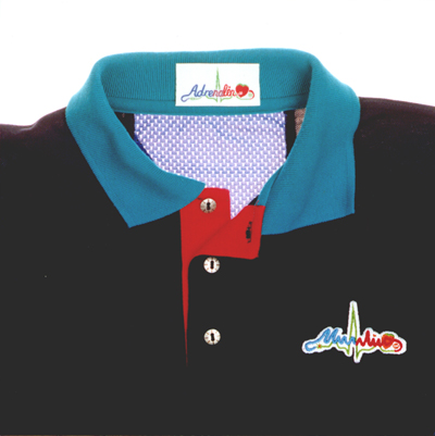 CLOtherapy'98 Royal Blue Polo-shirt...
