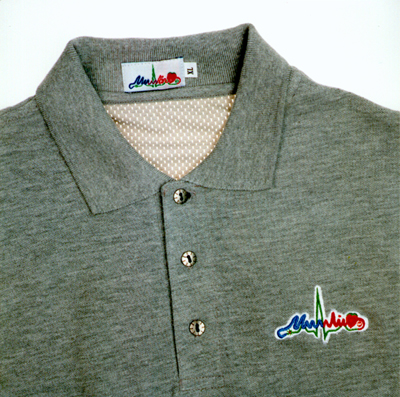CLOtherapy'98 Grey Polo-shirt...