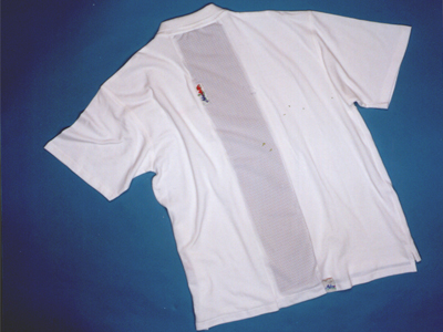 CLOtherapy'98 White Polo-shirt...